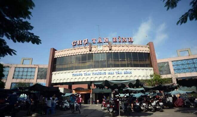 Chợ Tân Bình nơi được mệnh danh là thiên đường của các dòng mỹ phẩm và chăm sóc da trên thị trường TP. Hồ Chí Minh